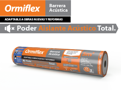 barrea acustica ormiflex
