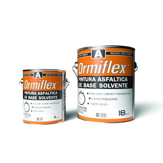pintura asfaltica ormiflex A linea premium ormiflex