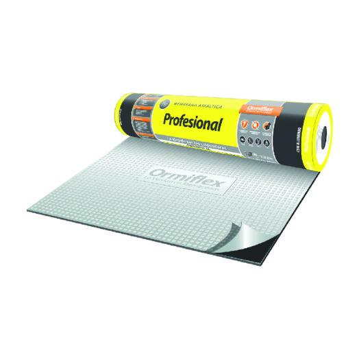 membrana asfaltica con aluminio linea profesional de ormiflex